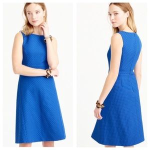 J. Crew Diamond Jacquard A Line Sleeveless Dress